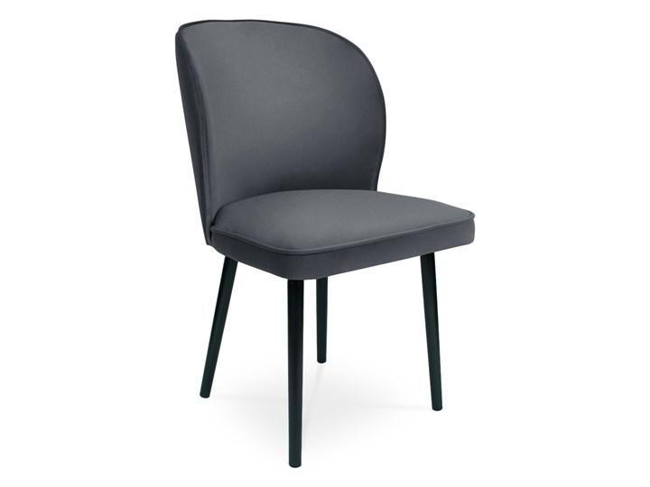 Bettso Krzesło RINO ciemny szary / PA06 Wysokość 87 cm Głębokość 60 cm Drewno Wysokość 46 cm Szerokość 87 cm Głębokość 47 cm Szerokość 54 cm Tkanina Pomieszczenie Jadalnia