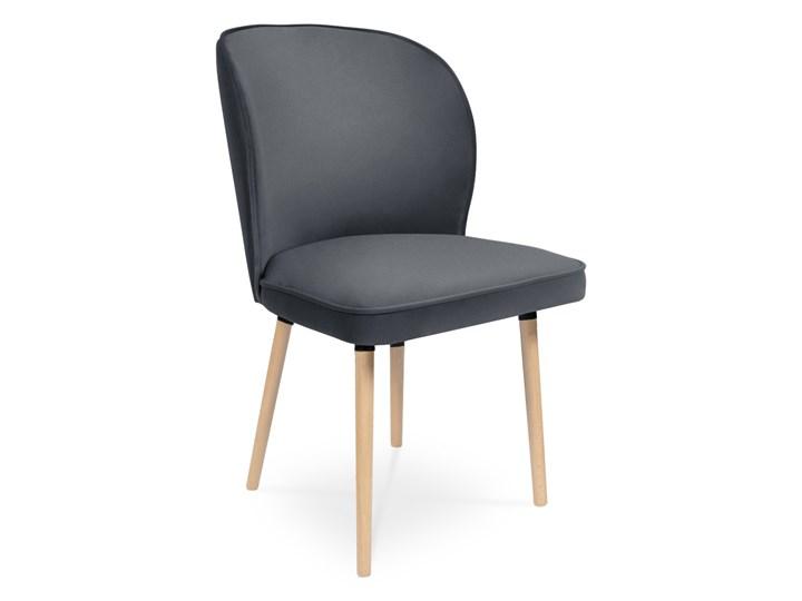 Bettso Krzesło RINO ciemny szary / PA06 Szerokość 87 cm Szerokość 54 cm Wysokość 87 cm Głębokość 60 cm Drewno Głębokość 47 cm Wysokość 46 cm Tkanina Kolor Czarny