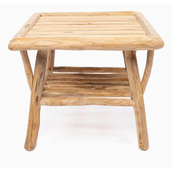 Stolik boczny Tulum Drewno Jasny