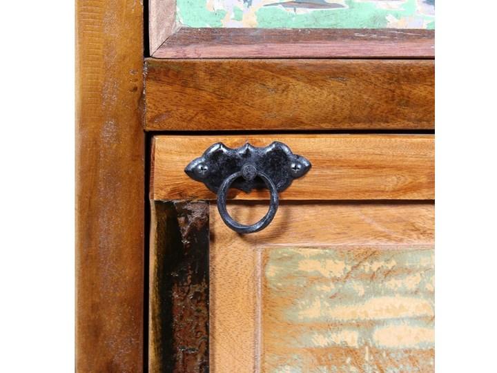vidaXL Szafka na buty, 4-półki i szuflada, solidne drewno z odzysku Pomieszczenie Sypialnia Kategoria Szafki i regały