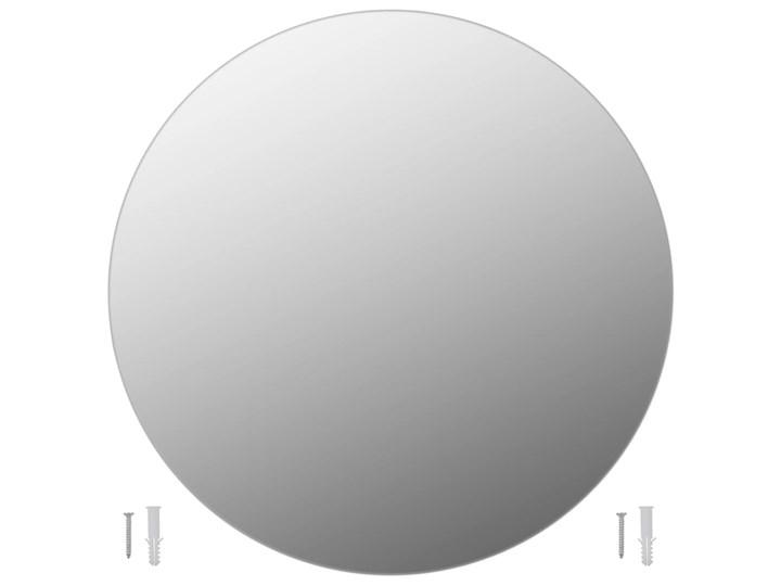 vidaXL Lustro ścienne, 70 cm, okrągłe, szklane Lustro bez ramy Kategoria Lustra Pomieszczenie Garderoba