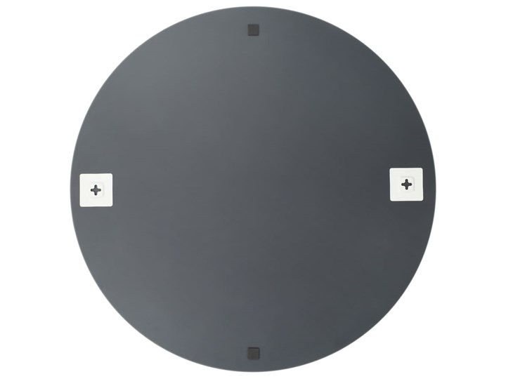 vidaXL Lustro ścienne, 70 cm, okrągłe, szklane Lustro bez ramy Pomieszczenie Sypialnia Pomieszczenie Salon