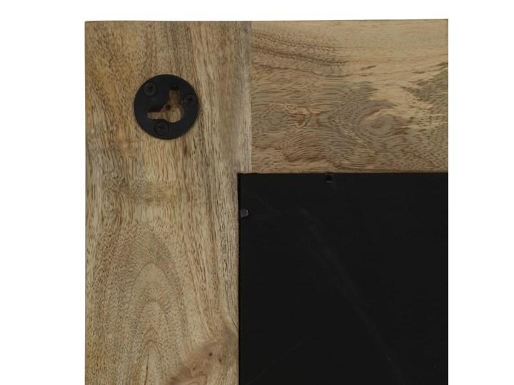 vidaXL Lustro z ramą z litego drewna mango, 50 x 110 cm Prostokątne Ścienne Pomieszczenie Przedpokój