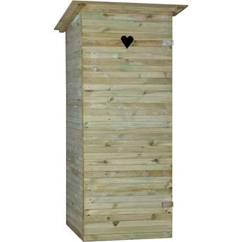 Sobex Toaleta drewniana 90 x 80 x 200 cm