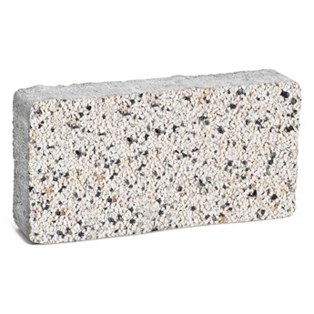 Bruk-bet Kostka Granito Bianco 20 cm x 10 cm x 4 cm