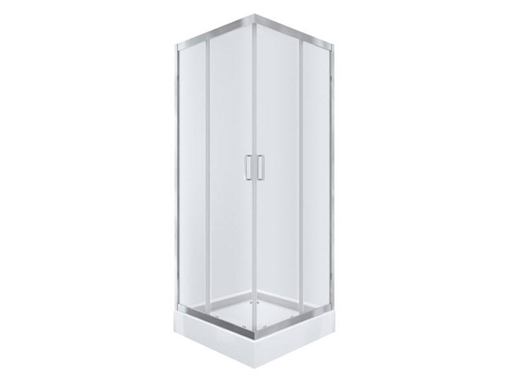 Kabi Kabina prysznicowa Ideal 80 kwadratowa z niskim brodzikiem