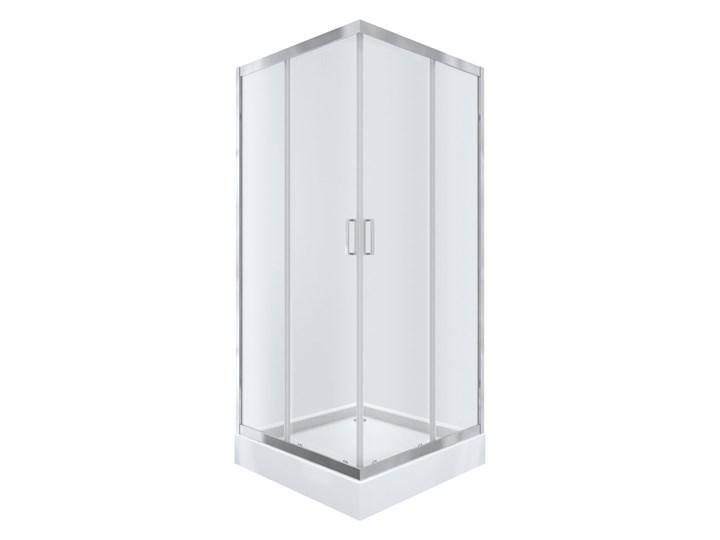 Kabi Kabina prysznicowa Ideal 90 kwadratowa z niskim brodzikiem