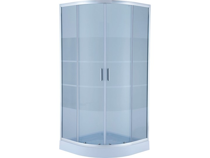 Kabina prysznicowa półokrągła Sheppard z brodzikiem 90 x 90 x 197,5 cm
