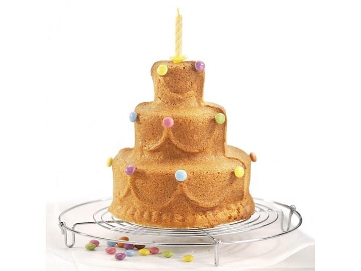 Birkmann Happy Birthday 3d Do ciasta Kategoria Formy i foremki Blacha Kolor Szary