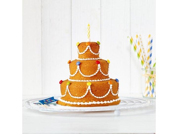 Birkmann Happy Birthday 3d Kategoria Formy i foremki Blacha Do ciasta Kolor Szary