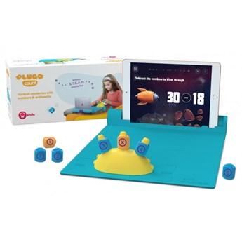 Zabawka edukacyjna zabawka interaktywna Shifu Plugo Count - zestaw klocków z grami AR do nauki matematyki