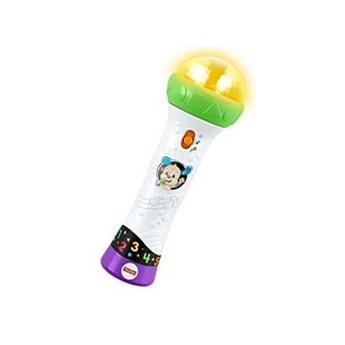 Zabawka interaktywna Fisher Price Mikrofon Malucha – Śpiewaj i nagrywaj!