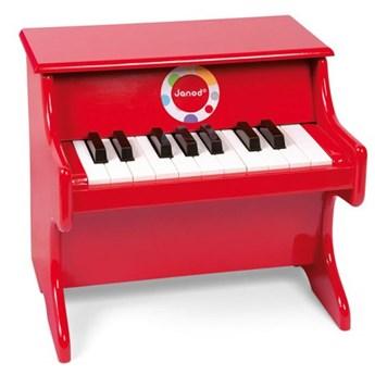 Nauka przez zabawę Janod Czerwone pianino Confetti J07622