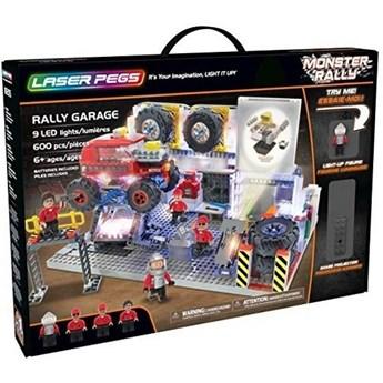 Klocki konstrukcyjne Laser Pegs Monster Rally Aleja Serwisowa 18205