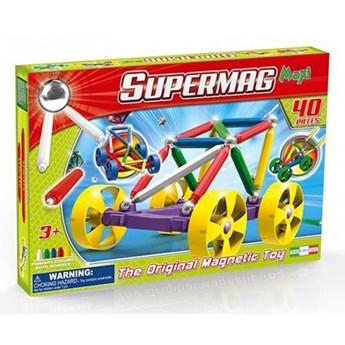 Magnetyczne Supermag Maxi Wheels 40 el.