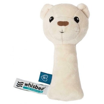 Grzechotka Whisbear Grzechotka Miś biały