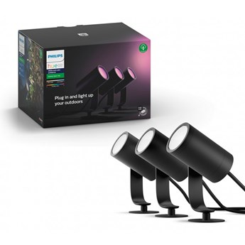 Philips Hue Lily RGBW 3-pak