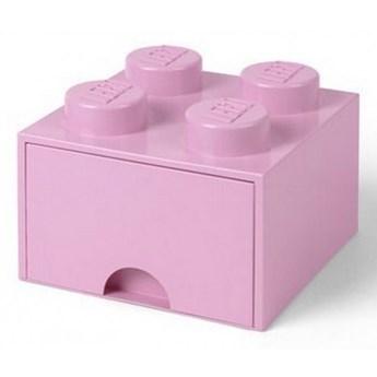 Szuflada na klocki Lego Brick Drawer 4 jasnoróżowy