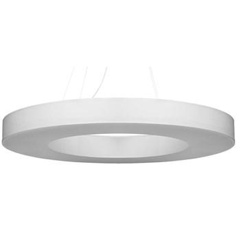 Biały regulowany okrągły żyrandol - EX697-Saturni