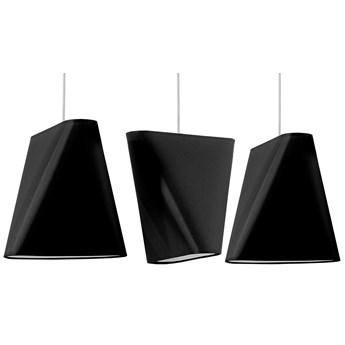 Czarny żyrandol listwa nad stół - EX705-Blux