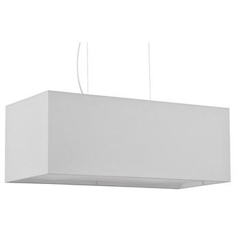 Biały prostokątny żyrandol nad stół - EX706-Santex