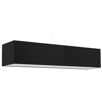 Czarny prostokątny żyrandol nad stół - EX707-Santex