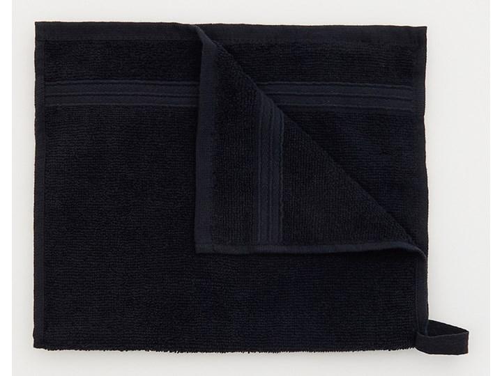 Sinsay - Bawełniany ręcznik 30x50 - Czarny Bawełna 30x50 cm Kategoria Ręczniki