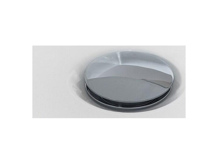 Wanna wolnostojąca biała akrylowa 170 x 80 cm system przelewowy owalna współczesna Długość 170 cm Kolor Biały Wolnostojące Kategoria Wanny