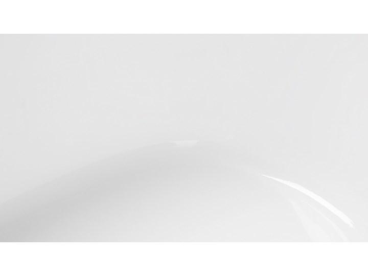 Wanna wolnostojąca czarna akrylowa 167 x 82 cm owalna Kategoria Wanny Długość 173 cm Wolnostojące Kolor Czarny