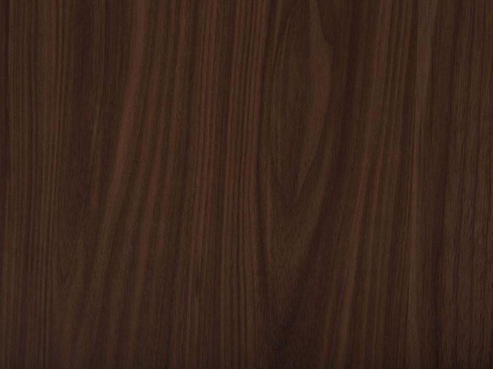Stół do jadalni ciemne drewno 150 x 90 cm prostokątny styl retro Długość 150 cm  Płyta MDF Kategoria Stoły kuchenne Kolor Brązowy