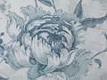 BELIANI Zestaw 2 poduszek dekoracyjnych w kwiaty 45 x 45 cm niebieski ALLIUM Poliester 45x45 cm Wzór Z nadrukiem Poszewka dekoracyjna Wzór Roślinny