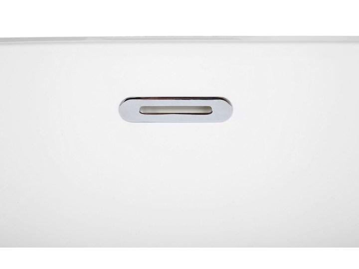 Wanna wolnostojąca biała akrylowa 170 x 78 cm nowoczesny wygląd Owalna Wolnostojące Długość 170 cm Symetryczne Kolor Biały