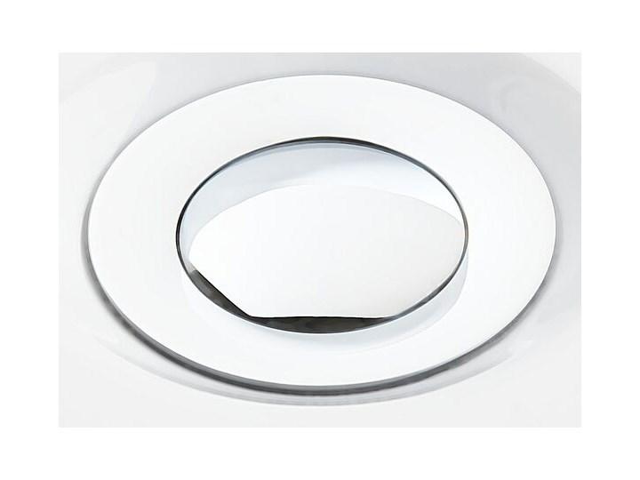 Wanna wolnostojąca biała akrylowa 170 x 80 cm owalna zaokrąglona nowoczesny design Kolor Biały Wolnostojące Kategoria Wanny