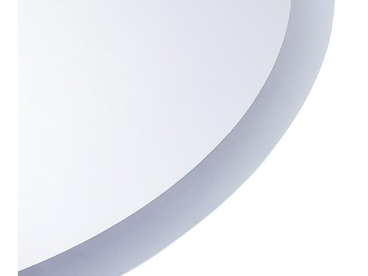Lustro łazienkowe owalne srebrne 60 x 80 cm z podświetleniem LED system zapobiegający parowaniu Kategoria Lustra Ścienne Lustro bez ramy Pomieszczenie Łazienka