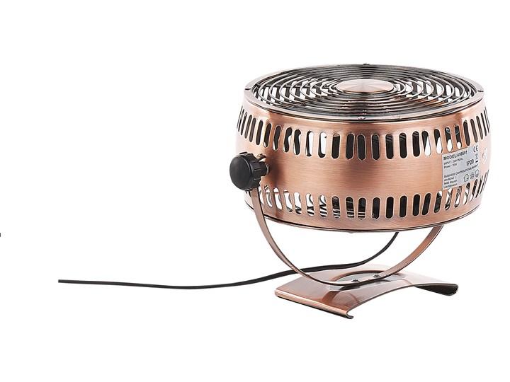 Wentylator biurkowy miedziany metalowy żelazny przenośny 24 cm do prądu wiatrak na stolik Stojący Kategoria Wentylatory
