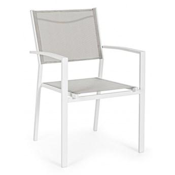 Krzesło ogrodowe Hilde Cloud z podłokietnikami