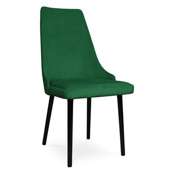 Bettso krzesło tapicerowane COTTO VELVET zielony / KR19