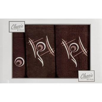 Komplet ręczników RICKY z haftem kod: 49597