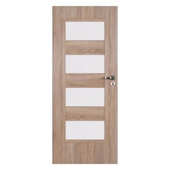 Drzwi pokojowe Kastel 80 lewe dąb sonoma