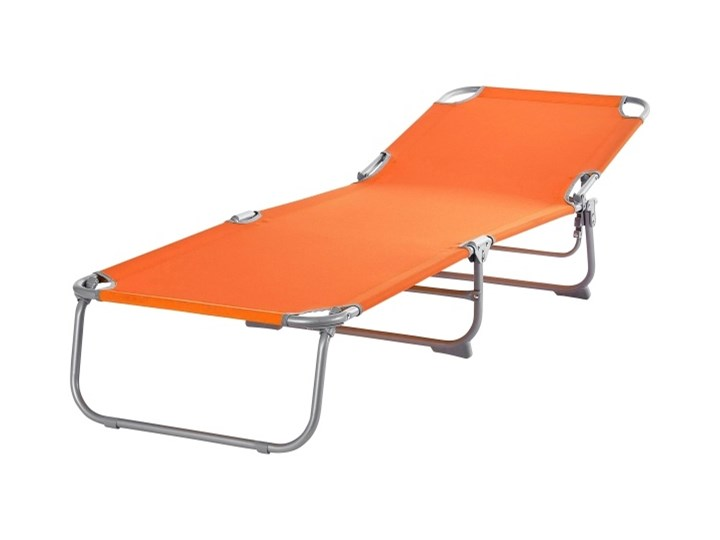 Leżanka Curacao pomarańczowa Leżanki Metal Kategoria Leżaki ogrodowe