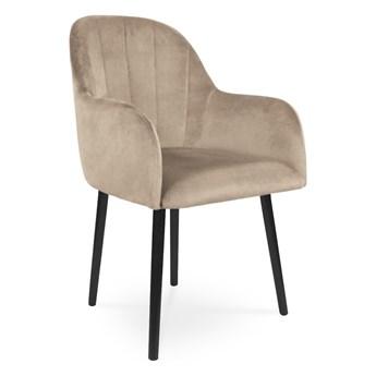 Bettso Krzesło tapicerowane BESSO beż / PA02