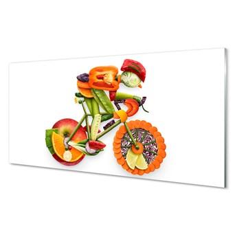Obrazy akrylowe Człowiek ułożony z warzyw