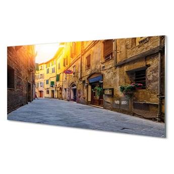 Obrazy akrylowe Włochy Ulica budynki