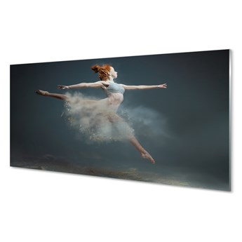Obrazy akrylowe Baletnica dym