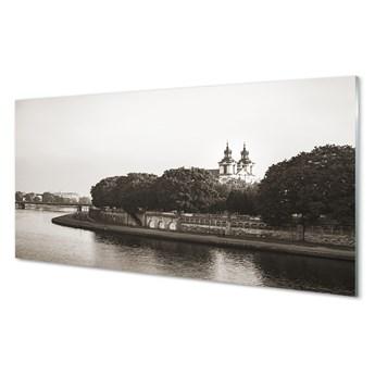 Obrazy akrylowe Kraków Rzeka most