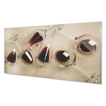 Obrazy akrylowe Kieliszki wino