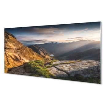 Obrazy akrylowe Góry wschód słońca