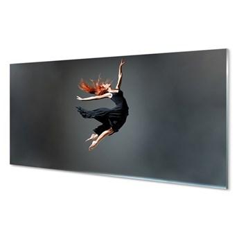 Obrazy akrylowe Kobieta w czarnej sukience