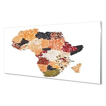 Obrazy akrylowe Przyprawy mapa