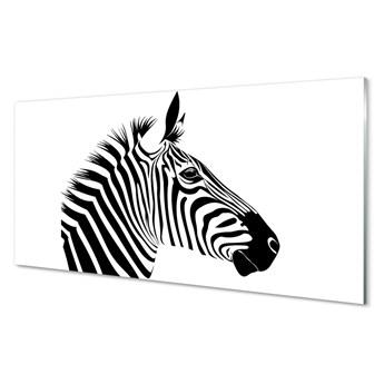 Obrazy akrylowe Ilustracja zebry
